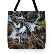 Early Ice No.2 Tote Bag