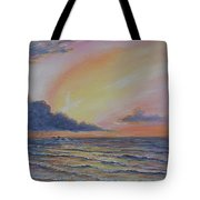 Early Joy Tote Bag by Fawn McNeill
