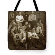 Early Monterey Baseball Team Circa 1895 Tote Bag
