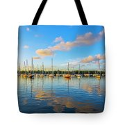 Early Morning 8768 Tote Bag