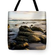 Early Morning At Friendly Beaches Tote Bag