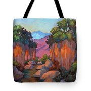 Early Morning At Indian Canyon Tote Bag