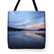 Early Morning At Lake Of The Ozarks Tote Bag