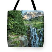 Early Morning At Myrtle Falls Tote Bag
