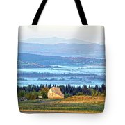 Early Morning At Sentinel Rock Tote Bag