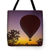Early Morning Balloon Ride Tote Bag