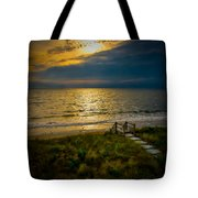 Early Morning Beach Tote Bag