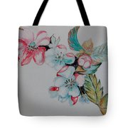 Early Morning Bloom Tote Bag