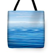 Early Morning Blues Tote Bag