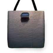 Early Morning Boat Tote Bag