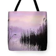 Early Morning By The Pond  Tote Bag