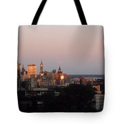 Early Morning Canada Day Tote Bag