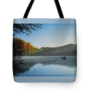 Early Morning Catch Tote Bag