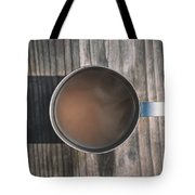 Early Morning Coffee  Tote Bag by Scott Norris