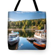 Early Morning Cruises To Doubtfull Sound Tote Bag