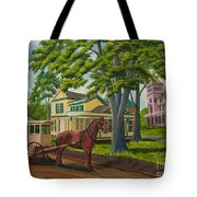 Early Morning Delivery Tote Bag