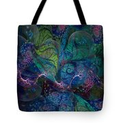 Early Morning Dew Sparkles Tote Bag