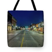 Early Morning Farmville Tote Bag