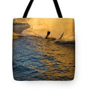 Early Morning Gold At Valletta Fortifications Tote Bag