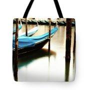 Early Morning Gondolas Tote Bag
