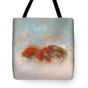 Early Morning Herd Tote Bag by Frances Marino
