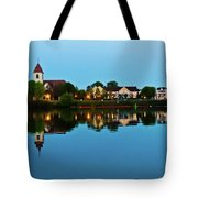Early Morning In Basel Tote Bag