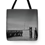 Early Morning Fog In The San Francisco Bay Tote Bag