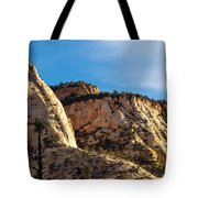 Early Morning In Zion Canyon Tote Bag