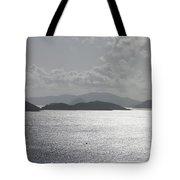 Early Morning Island View Tote Bag