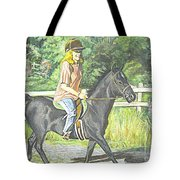 Early Morning Jaunt Tote Bag