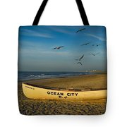 Early Morning Ocean City Nj Tote Bag