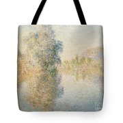 Early Morning On The Seine At Giverny Tote Bag