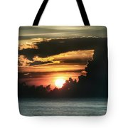 Early Morning Orb Tote Bag