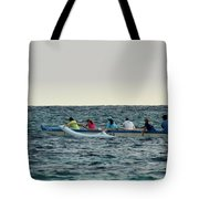 Early Morning Outing Tote Bag