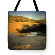 Early Morning Pond Tote Bag