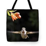 Early Morning Portrait Tote Bag