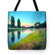 Early Morning Reflections Tote Bag