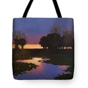 Early Morning Rice Fields Tote Bag