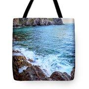Early Morning Riomaggiore Cinque Terre Italy Tote Bag