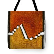 Early Morning Rounds Abstract Tote Bag
