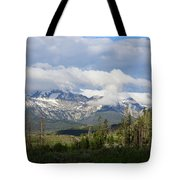 Early Morning Sawtooths Tote Bag
