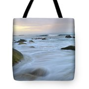 Early Morning Seas Tote Bag