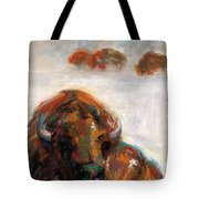 Early Morning Snow Tote Bag