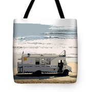 Early Morning Surf Tote Bag