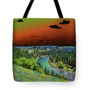 Early Morning Thoughts Tote Bag