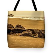 Early Morning Tybee Beach Tote Bag