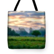 Early Morning Warmth Tote Bag