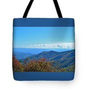 Early Mountain Autumn Tote Bag
