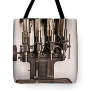 Early Press From Car Manufacturing 2 Tote Bag