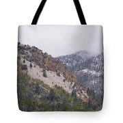 Early Snows Tote Bag